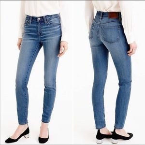 J Crew Lookout High Rise Skinny Jean